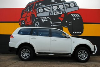 2012 Mitsubishi Challenger PB (KH) MY12 LS Alpine White 5 Speed Sports Automatic Wagon.