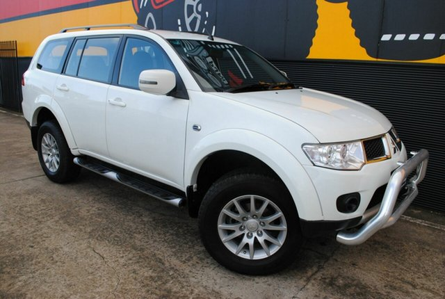 Used Mitsubishi Challenger PB (KH) MY12 LS, 2012 Mitsubishi Challenger PB (KH) MY12 LS Alpine White 5 Speed Sports Automatic Wagon