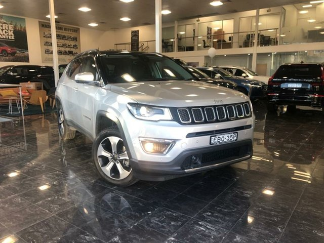 Used Jeep Compass M6 MY18 Limited (4x4), 2018 Jeep Compass M6 MY18 Limited (4x4) Minimal Grey 9 Speed Automatic Wagon