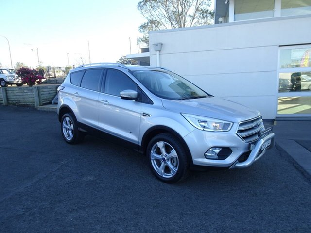 Used Ford Escape ZG Trend PwrShift AWD, 2017 Ford Escape ZG Trend PwrShift AWD Moondust Silver 6 Speed Sports Automatic Dual Clutch Wagon