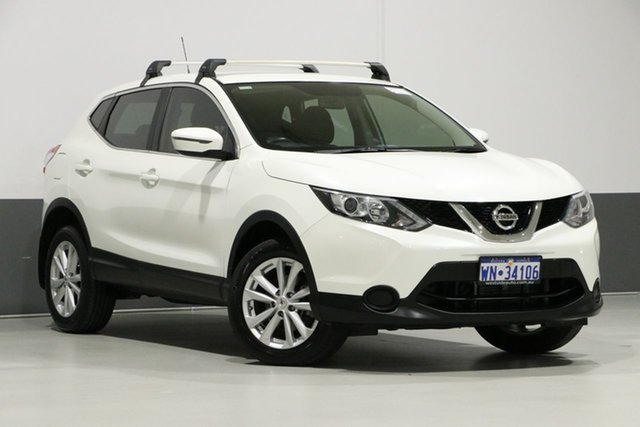 Used Nissan Qashqai J11 ST, 2017 Nissan Qashqai J11 ST White Continuous Variable Wagon