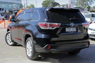 2016 Toyota Kluger GSU50R GX (4x2) Black 6 Speed Automatic Wagon.