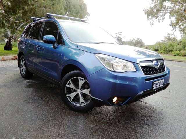 Used Subaru Forester S4 MY15 2.5i-L CVT AWD Special Edition, 2015 Subaru Forester S4 MY15 2.5i-L CVT AWD Special Edition Blue 6 Speed Constant Variable Wagon