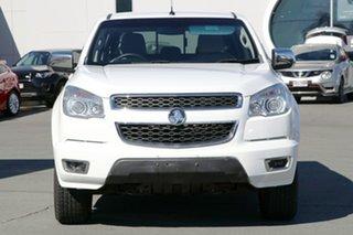 2014 Holden Colorado RG MY14 Storm Crew Cab White 6 Speed Manual Utility