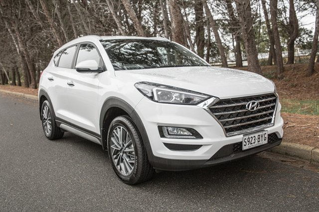 Used Hyundai Tucson TL2 MY18 Elite 2WD, 2018 Hyundai Tucson TL2 MY18 Elite 2WD White 6 Speed Sports Automatic Wagon