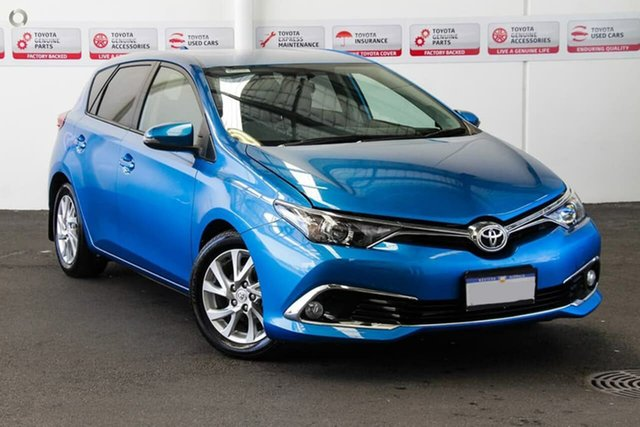 Used Toyota Corolla ZRE182R Ascent Sport S-CVT, 2015 Toyota Corolla ZRE182R Ascent Sport S-CVT Tidal Blue 7 Speed Constant Variable Hatchback