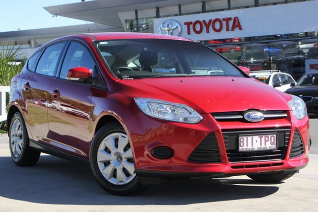 Used Ford Focus LW MkII Ambiente PwrShift, 2013 Ford Focus LW MkII Ambiente PwrShift Red 6 Speed Sports Automatic Dual Clutch Hatchback