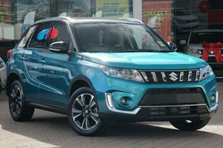 2021 Suzuki Vitara LY Series II Turbo 2WD Turquoise/Black Roof 6 Speed Sports Automatic Wagon.