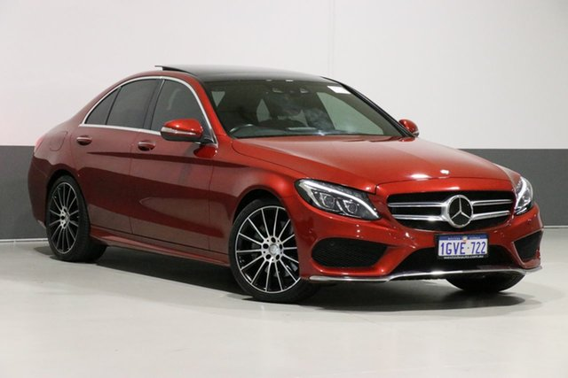 Used Mercedes-Benz C250 205 BlueTEC, 2015 Mercedes-Benz C250 205 BlueTEC Red 7 Speed Automatic Sedan