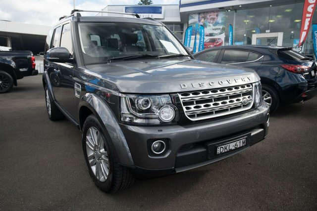 Used Land Rover Discovery Series 4 L319 MY16.5 SDV6 HSE, 2016 Land Rover Discovery Series 4 L319 MY16.5 SDV6 HSE Grey 8 Speed Sports Automatic Wagon