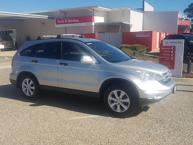 Used Honda CR-V MY11 (4x4) Luxury, 2012 Honda CR-V MY11 (4x4) Luxury Silver 5 Speed Automatic Wagon