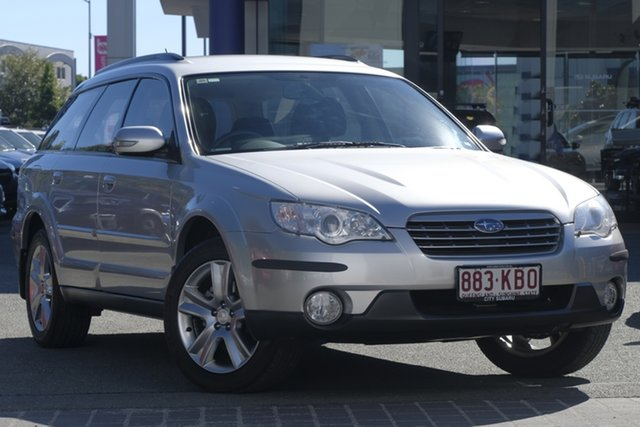 Used Subaru Outback B4A MY07 Luxury AWD, 2007 Subaru Outback B4A MY07 Luxury AWD Silver 4 Speed Sports Automatic Wagon