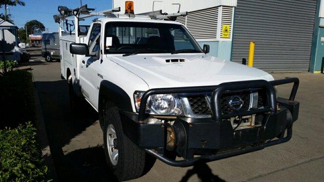 Used Nissan Patrol GU 6 MY10 DX, 2010 Nissan Patrol GU 6 MY10 DX White 5 Speed Manual Cab Chassis