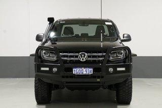2018 Volkswagen Amarok 2H MY18 V6 TDI 550 Dark Label Black 8 Speed Automatic Dual Cab Utility.