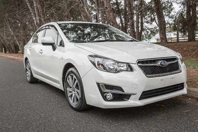 Used Subaru Impreza G4 MY16 2.0i Lineartronic AWD Premium, 2016 Subaru Impreza G4 MY16 2.0i Lineartronic AWD Premium White 6 Speed Constant Variable Sedan