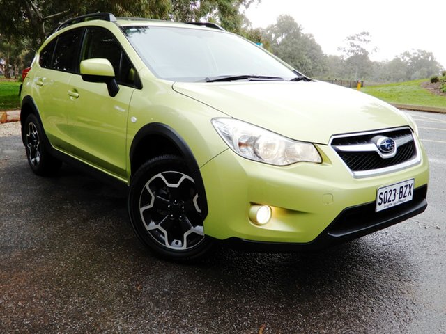 Used Subaru XV G4X MY14 2.0i-L Lineartronic AWD, 2014 Subaru XV G4X MY14 2.0i-L Lineartronic AWD Plasma Green 6 Speed Constant Variable Wagon