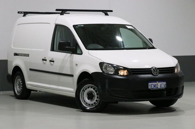 Used Volkswagen Caddy 2K MY14 Maxi TDI250, 2014 Volkswagen Caddy 2K MY14 Maxi TDI250 White 5 Speed Manual Van