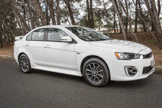 2016 Mitsubishi Lancer CF MY16 ES Sport White 6 Speed Constant Variable Sedan.