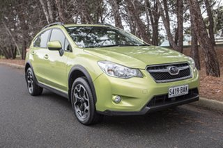 2014 Subaru XV G4X MY14 2.0i Lineartronic AWD Plasma Green 6 Speed Constant Variable Wagon.