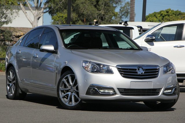 Used Holden Calais VF II MY16 V, 2016 Holden Calais VF II MY16 V Silver 6 Speed Sports Automatic Sedan