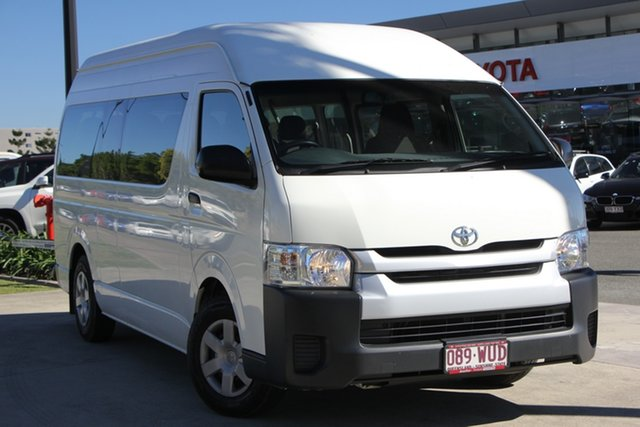 Used Toyota HiAce KDH223R Commuter High Roof Super LWB, 2015 Toyota HiAce KDH223R Commuter High Roof Super LWB French Vanilla 4 Speed Automatic Bus