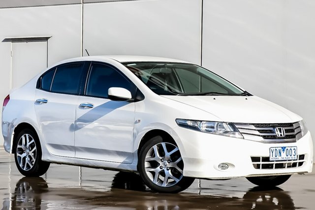 Used Honda City GM MY10 VTi-L, 2010 Honda City GM MY10 VTi-L Taffeta White 5 Speed Manual Sedan