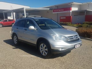 2012 Honda CR-V MY11 (4x4) Luxury Silver 5 Speed Automatic Wagon