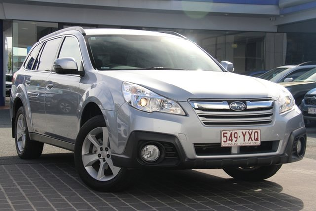 Used Subaru Outback B5A MY13 2.5i Lineartronic AWD Premium, 2013 Subaru Outback B5A MY13 2.5i Lineartronic AWD Premium Silver 6 Speed Constant Variable Wagon