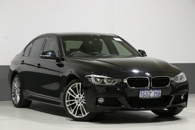 Used BMW 330i F30 LCI MY18 M Sport, 2018 BMW 330i F30 LCI MY18 M Sport Black Sapphire 8 Speed Automatic Sedan