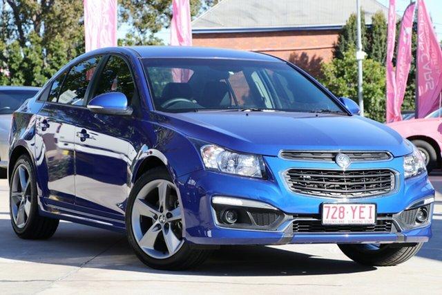 Used Holden Cruze JH Series II MY16 SRI Z-Series, 2016 Holden Cruze JH Series II MY16 SRI Z-Series Blue 6 Speed Manual Sedan