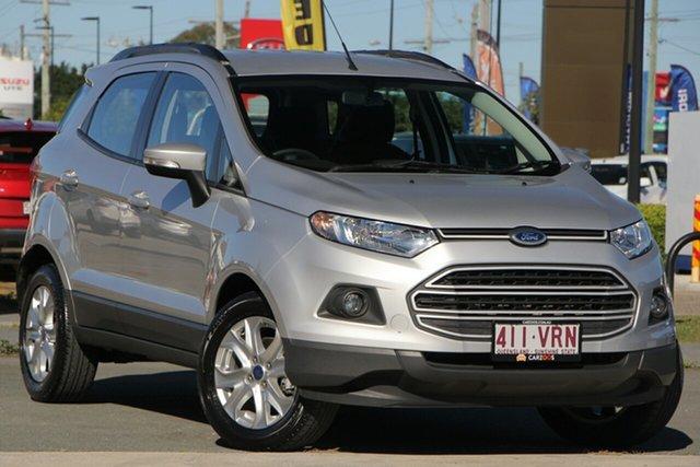 Used Ford Ecosport BK Trend PwrShift, 2015 Ford Ecosport BK Trend PwrShift Silver 6 Speed Sports Automatic Dual Clutch Wagon