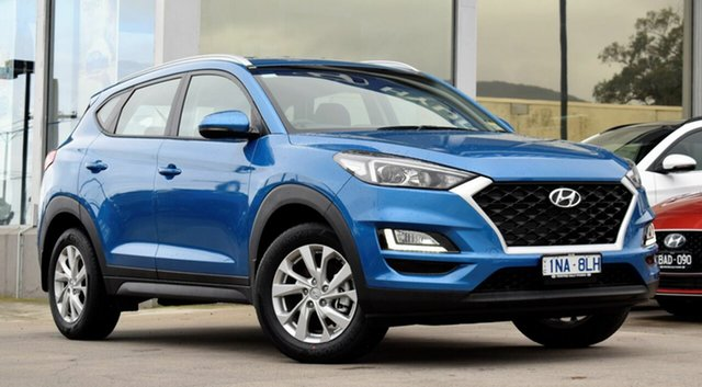 Demo Hyundai Tucson TL3 MY19 Active X 2WD, 2018 Hyundai Tucson TL3 MY19 Active X 2WD Aqua Blue 6 Speed Automatic Wagon