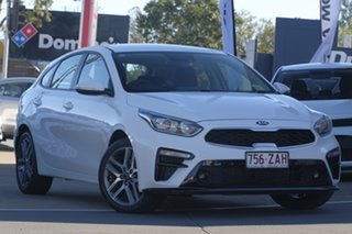 2019 Kia Cerato BD MY19 Sport+ Clear White 6 Speed Sports Automatic Hatchback.