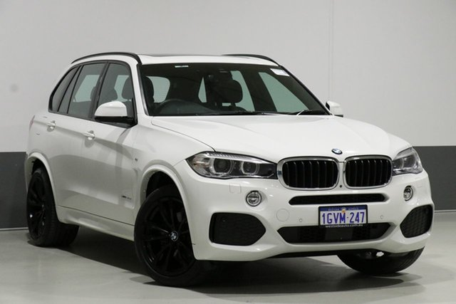 Used BMW X5 F15 MY16 xDrive 30D, 2018 BMW X5 F15 MY16 xDrive 30D White 8 Speed Automatic Wagon