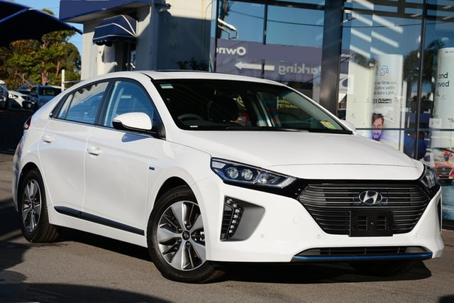 New Hyundai Ioniq AE.2 MY19 plug-in DCT Premium, 2019 Hyundai Ioniq AE.2 MY19 plug-in DCT Premium Polar White 6 Speed Sports Automatic Dual Clutch