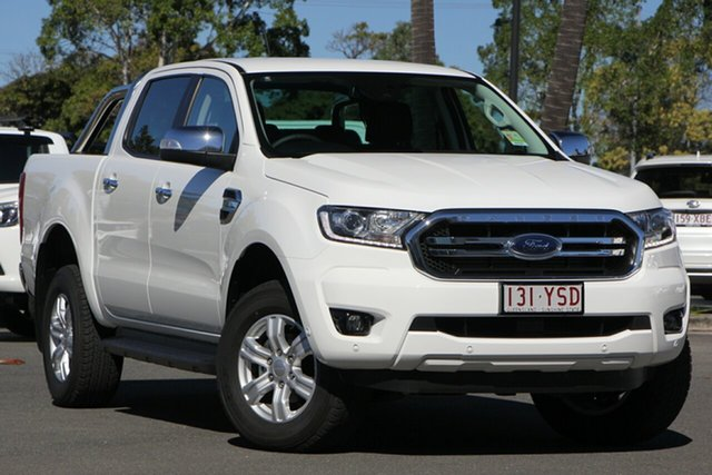 Demo Ford Ranger PX MkIII MY19 XLT 3.2 (4x4), 2019 Ford Ranger PX MkIII MY19 XLT 3.2 (4x4) Arctic White 6 Speed Automatic Double Cab Pickup