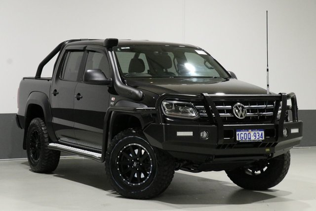 Used Volkswagen Amarok 2H MY18 V6 TDI 550 Dark Label, 2018 Volkswagen Amarok 2H MY18 V6 TDI 550 Dark Label Black 8 Speed Automatic Dual Cab Utility