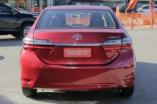 2017 Toyota Corolla ZRE172R Ascent Red 7 Speed CVT Auto Sequential Sedan
