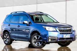 2016 Subaru Forester S4 MY16 2.0D-L CVT AWD Quartz Blue 7 Speed Constant Variable Wagon.