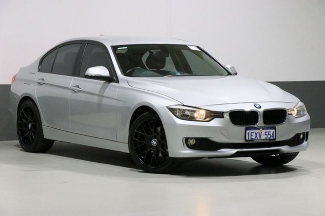Used BMW 316i F30 MY14 Upgrade , 2014 BMW 316i F30 MY14 Upgrade Glacier Silver 8 Speed Automatic Sedan