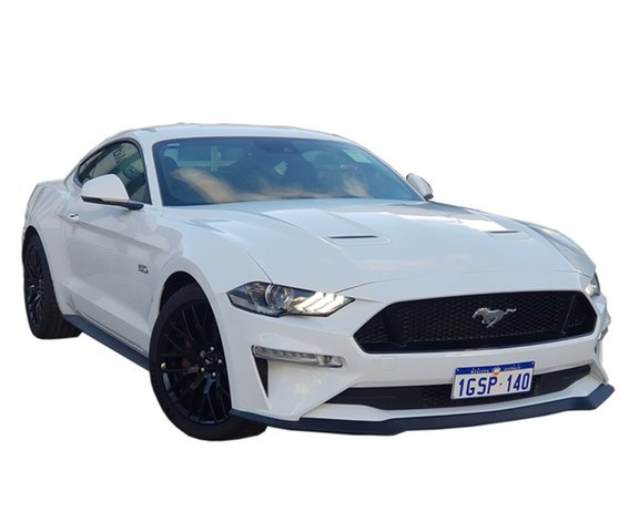 Demo Ford Mustang FN 2018MY GT Fastback SelectShift, 2018 Ford Mustang FN 2018MY GT Fastback SelectShift Oxford White 10 Speed Sports Automatic Fastback