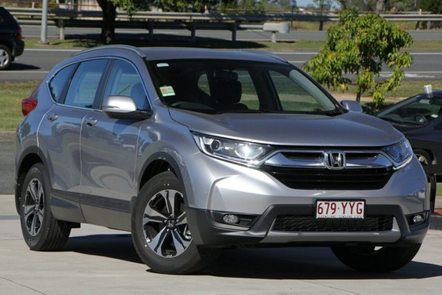 Demo Honda CR-V RW MY19 VTi FWD, 2019 Honda CR-V RW MY19 VTi FWD Lunar Silver 1 Speed Constant Variable Wagon