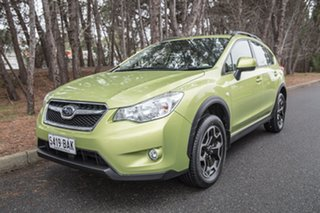 2014 Subaru XV G4X MY14 2.0i Lineartronic AWD Plasma Green 6 Speed Constant Variable Wagon
