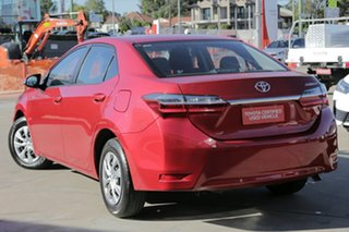 2017 Toyota Corolla ZRE172R Ascent Red 7 Speed CVT Auto Sequential Sedan.
