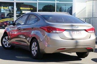 2012 Hyundai Elantra MD2 Active Gold 6 Speed Manual Sedan.