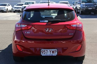 2014 Hyundai i30 GD2 Active Red 6 Speed Sports Automatic Hatchback