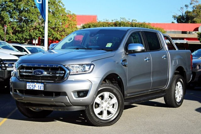 Used Ford Ranger PX MkIII 2019.00MY XLT Pick-up Double Cab, 2019 Ford Ranger PX MkIII 2019.00MY XLT Pick-up Double Cab Silver 6 Speed Sports Automatic Utility
