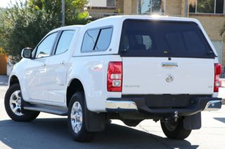 2014 Holden Colorado RG MY14 Storm Crew Cab White 6 Speed Manual Utility.