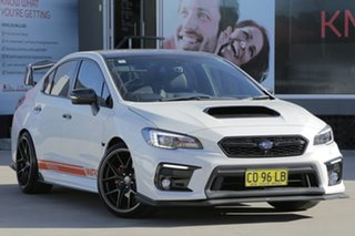 2016 Subaru WRX MY17 Premium (AWD) Crystal White Continuous Variable Sedan.