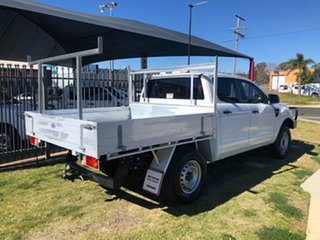 2015 Ford Ranger PX XL 3.2 (4x4) White 6 Speed Manual Dual Cab Chassis
